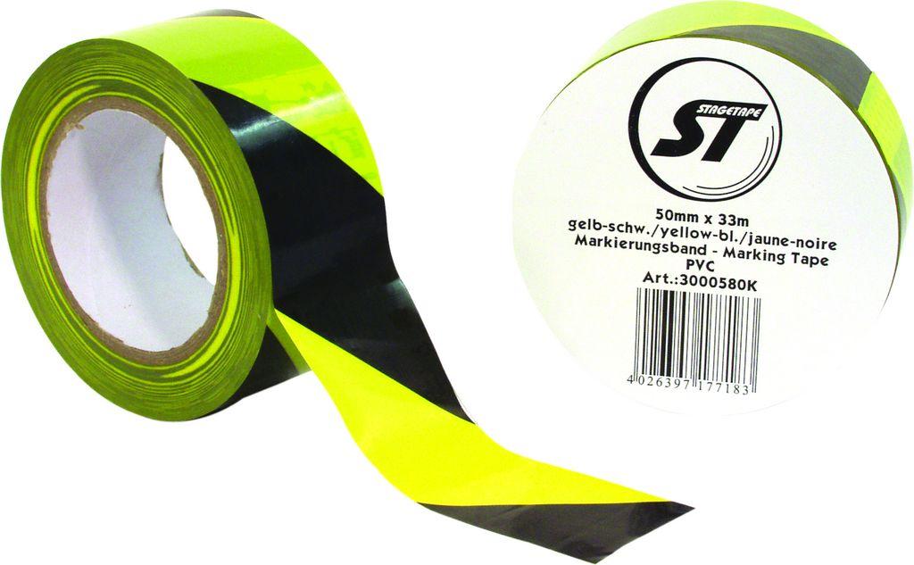 Gaffa standard žluto-černá 50mmx33m