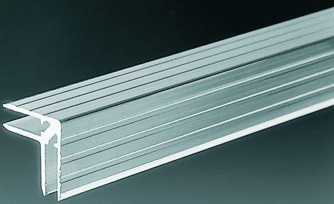 Fotografie Hliníkový profil casemaker 30 x 30 mm, pro překližku 7 mm
