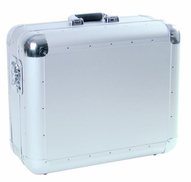 Fotografie Case pro gramofon Tour ALU, stříbrný