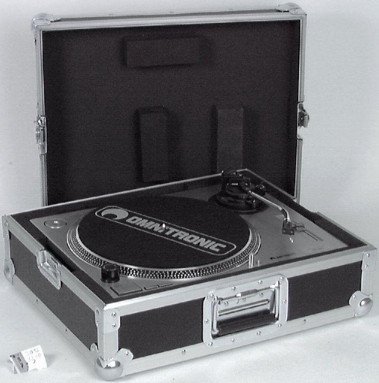 Case pro gramofon Tour Pro, černý