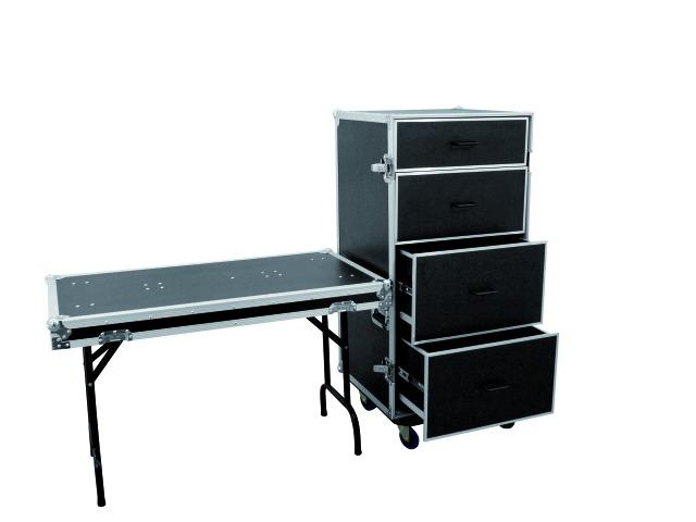 Roadinger FD-1, univerzální přepravní skříň se zásuvkami a kolečky