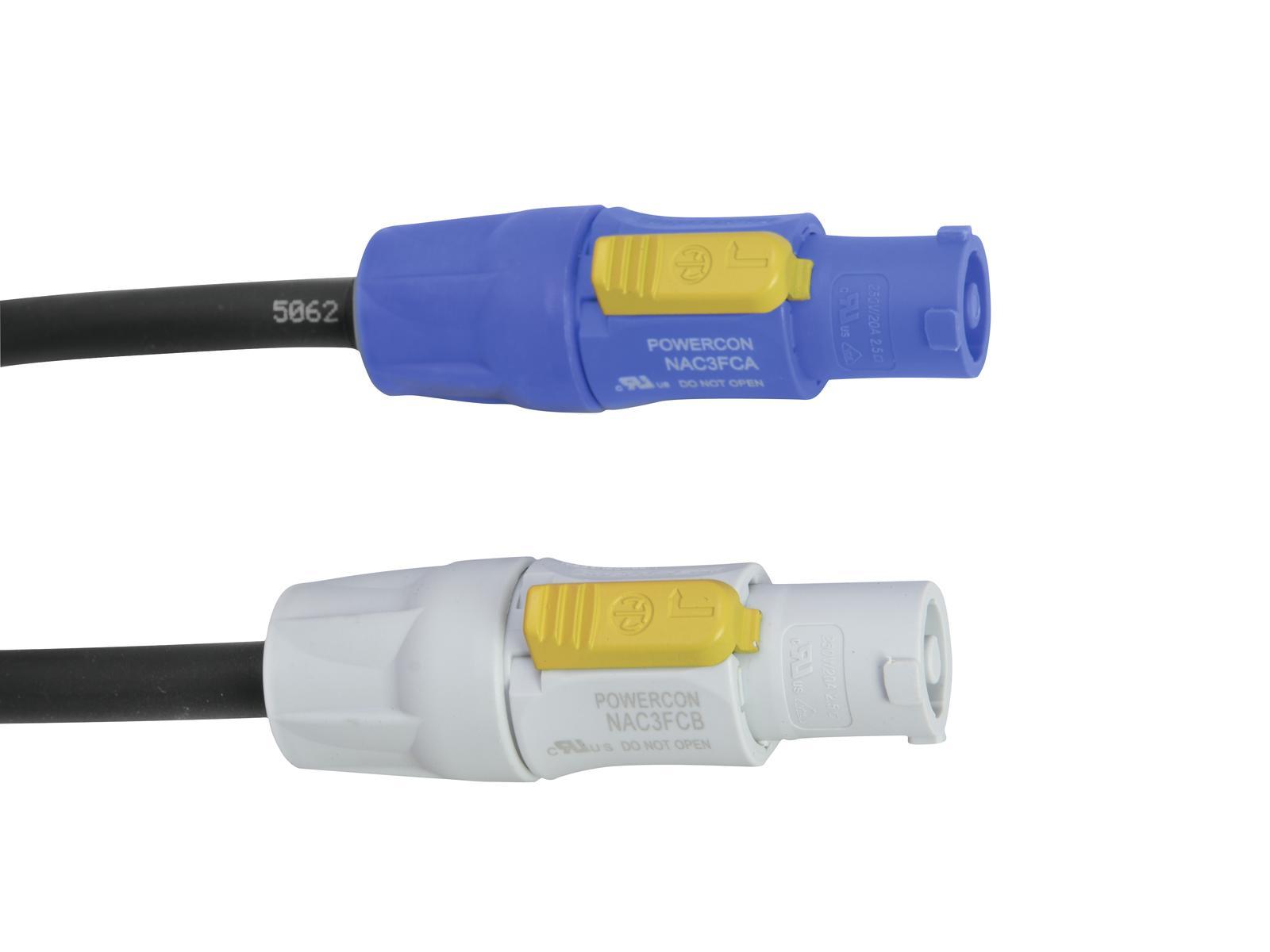 Fotografie PSSO Powercon prodlužovací kabel 0,5m, 3x1,5mm