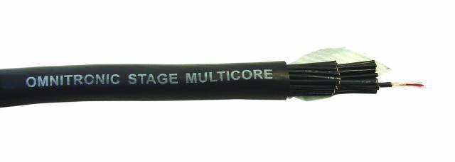 Kabel multicore symetrický 24 párový, role 25m