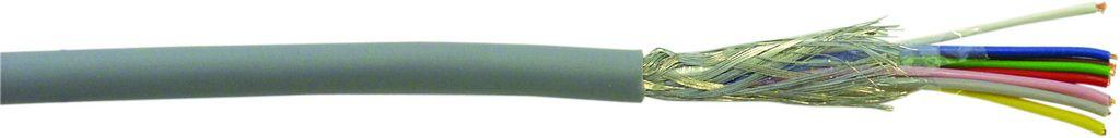 Kabel datový stíněný LiYCY 8x0.14 qmm, role 25m