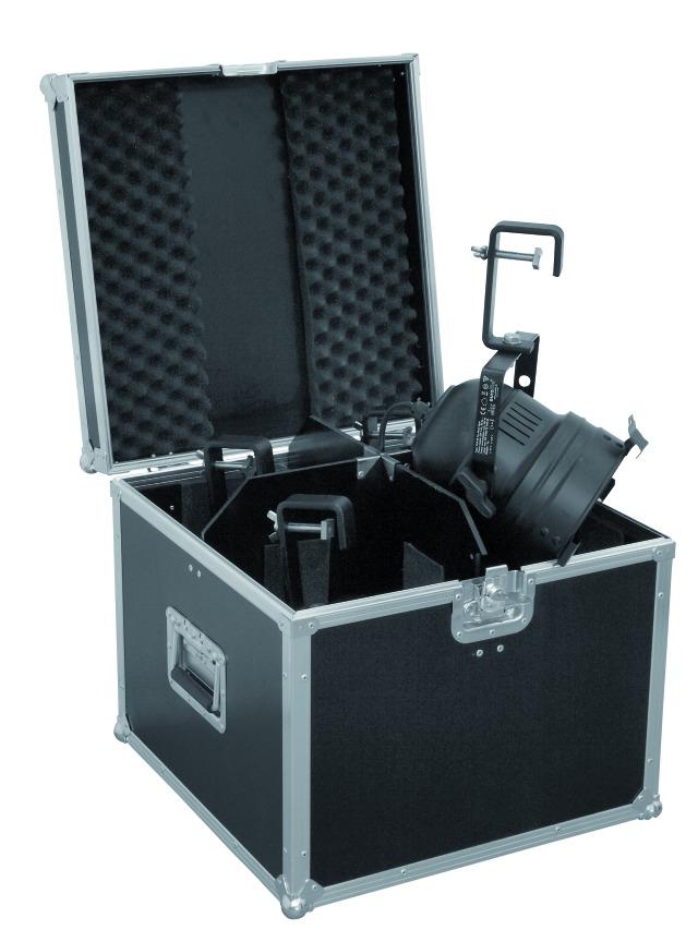 Fotografie Transportní case pro 4 x PAR-LED 56 spot, dlouhý