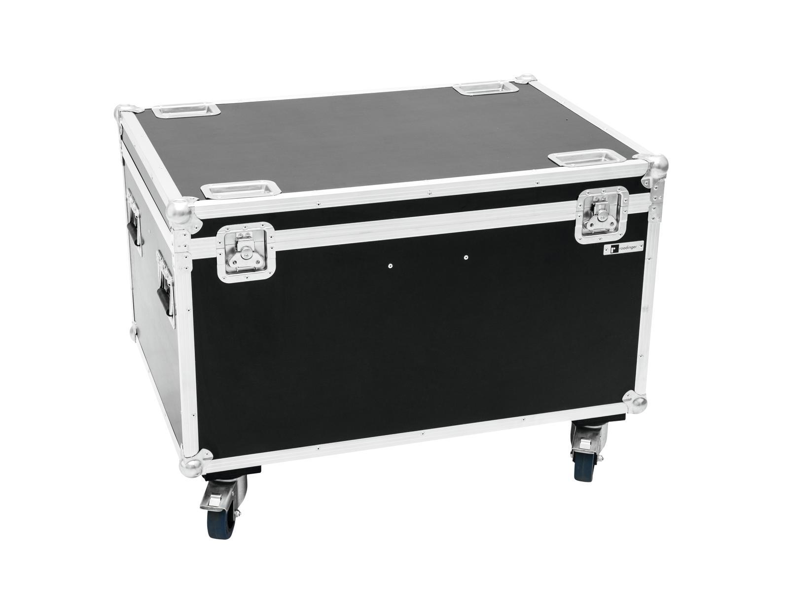 Roadinger Flightcase pro 4x TMH-X12 na kolečkách