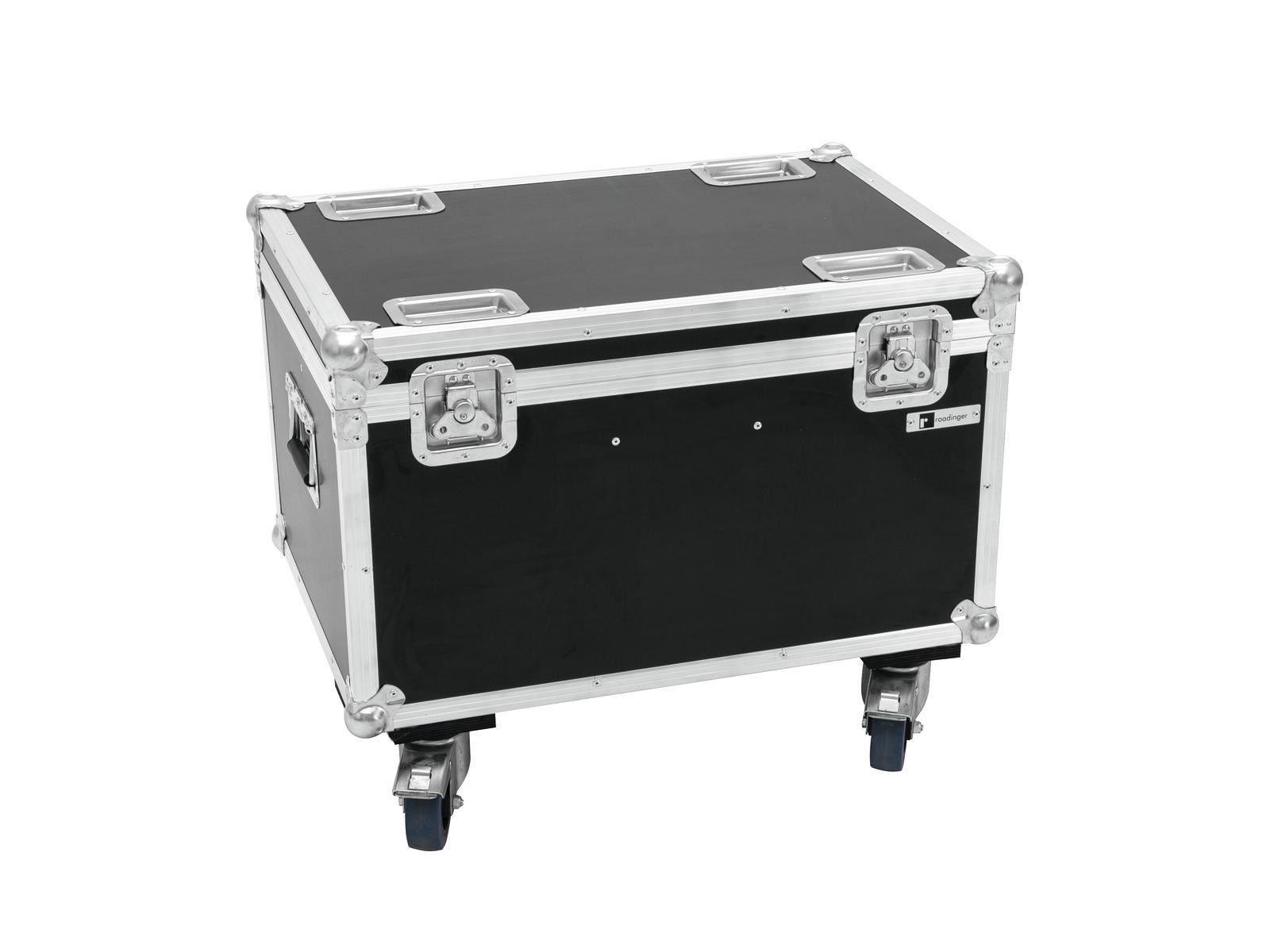 Roadinger Flightcase pro 4x LED MFX-3 na kolečkách