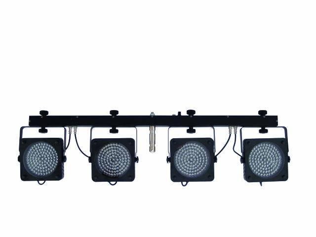 Eurolite LED KLS-200, 4x 108 RGB DMX, světelná rampa