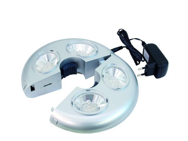 Fotografie Eurolite LED objímka 20cm, 28x LED RGB