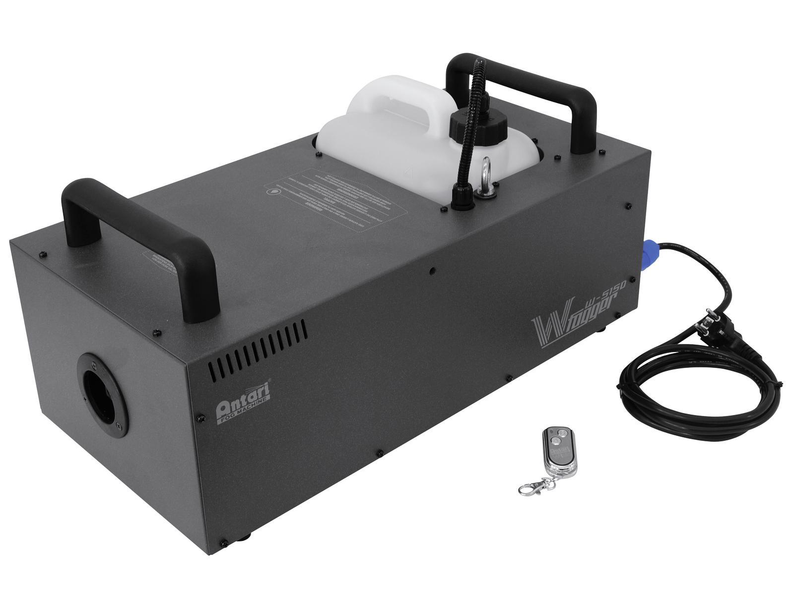 Fotografie Antari W-515D Pro výrobník mlhy 1500W