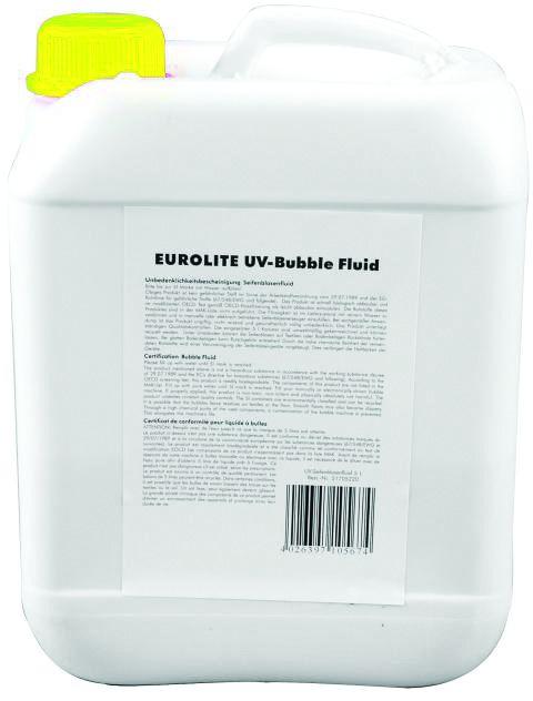 "Eurolite UV náplň ""Bubble"" 5L, žlutá"