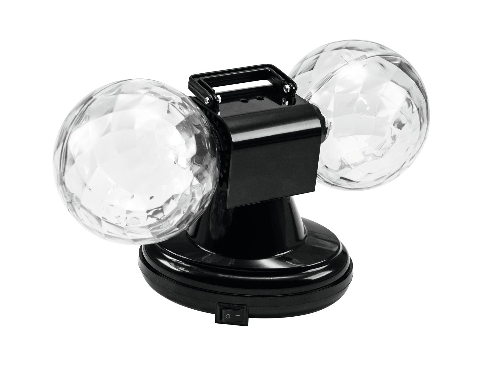 Eurolite LED MDB-12 Mini RGB Double Ball
