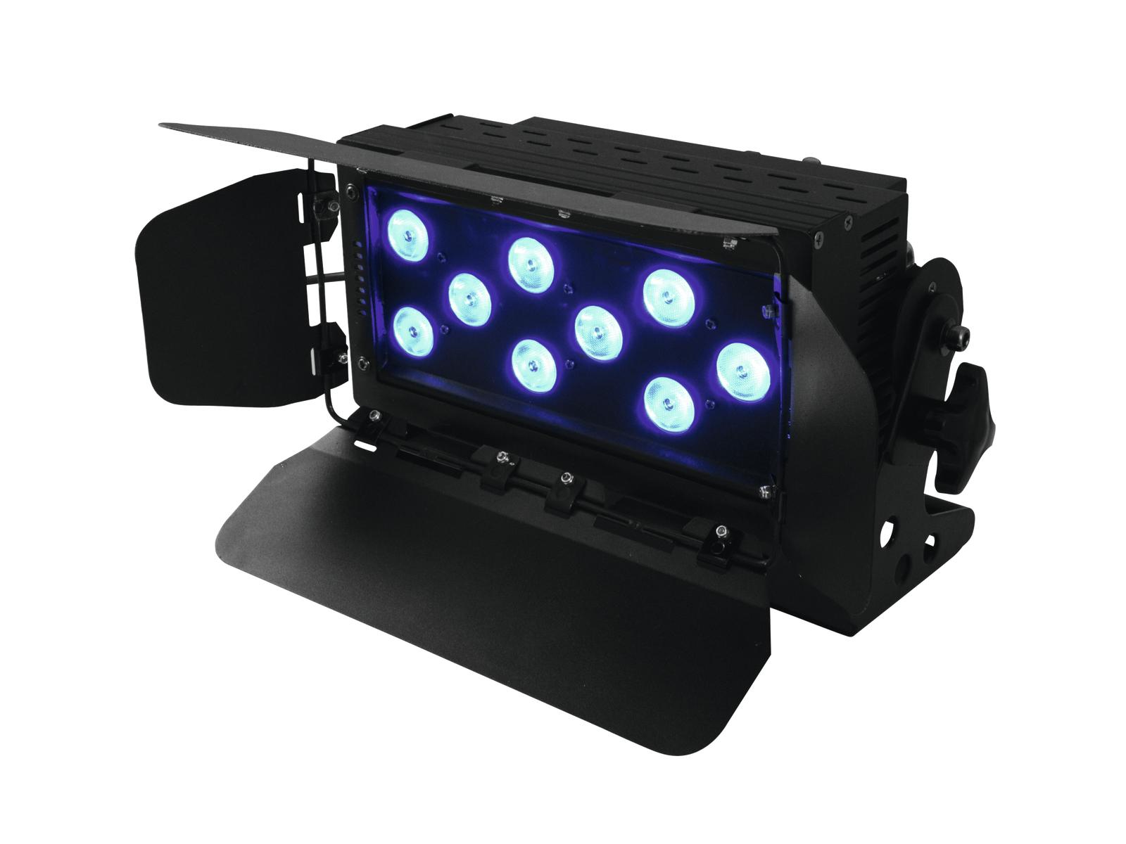 Fotografie Eurolite LED Wash 9x 8W QCL RGBW