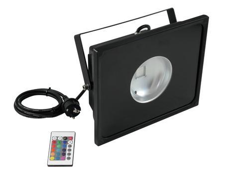 Eurolite LED IP FL-50 COB RGB 60° s dálkovým ovladačem, černý