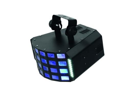 Fotografie Eurolite LED Four 4x3W RGBA, 36x SMD LED bílé, DMX