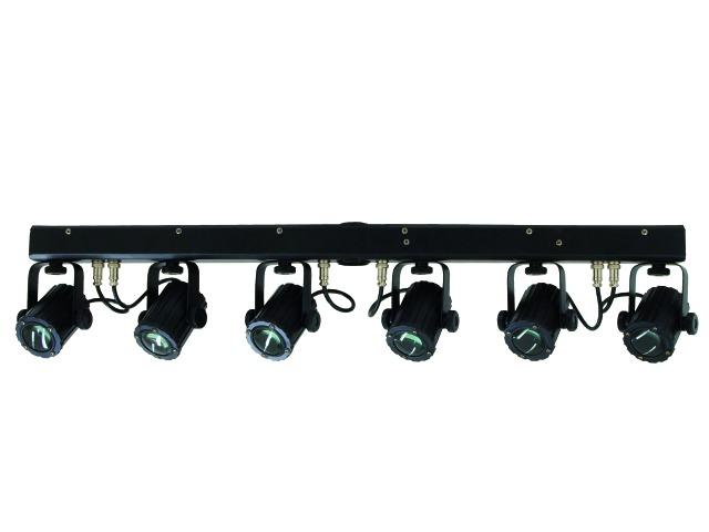 Eurolite LED KLS Basic DOUBLE 6x3W TCL DMX, světelná rampa