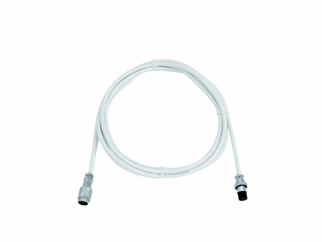 Fotografie Prodlužovací kabel pro LED ball, 3 m, bílý