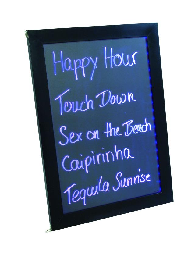LED reklamní tabule, 58 x 42 cm
