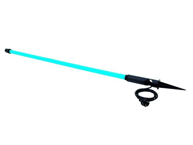 Venkovní neónová tyč T8, 36 W, 134 cm, modrá L