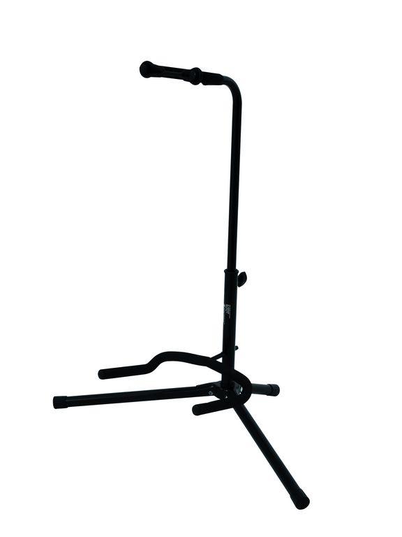 Fotografie Kytarový stojan, černý