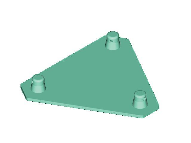 Decolock DQ3-BPM základní deska samec