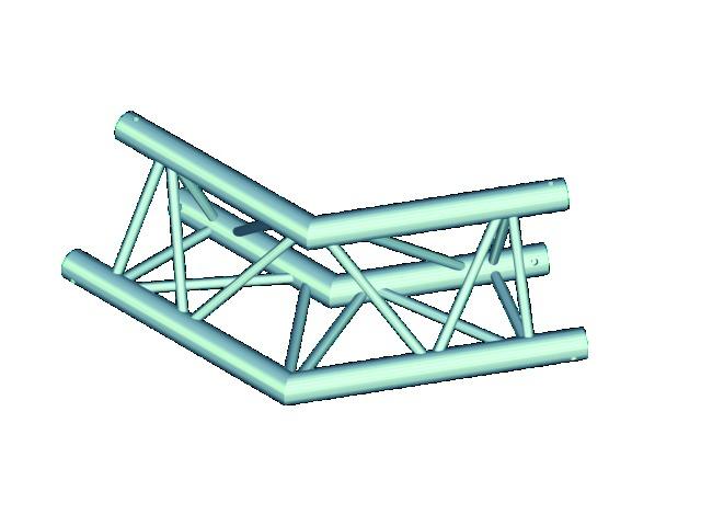 Trilock E-GL33 C-22 2-way corner 120°