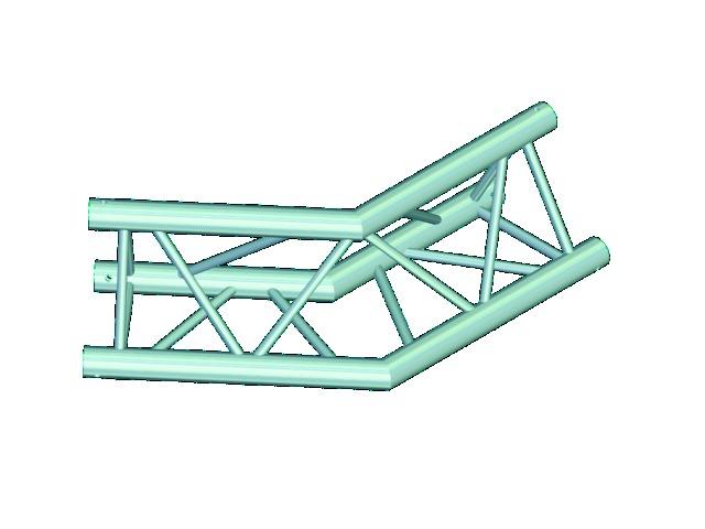 Trilock E-GL33 C-23 2-way corner 135°