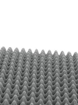 """Image of Akustický tlumící panel """"vajíčka"""", výška 40mm, rozměr 100x200cm"""