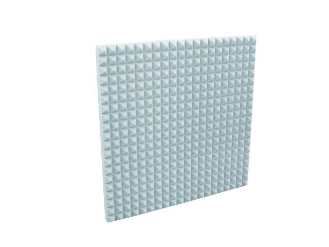 Fotografie Akustická pěna, pyramidy 50 mm, 50x50 cm