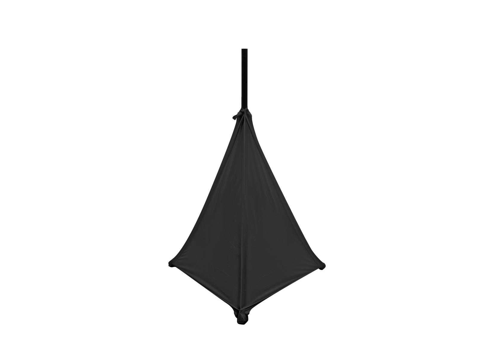 Eurolite Tripod Cover 3, elastický návlek na stojan, černý