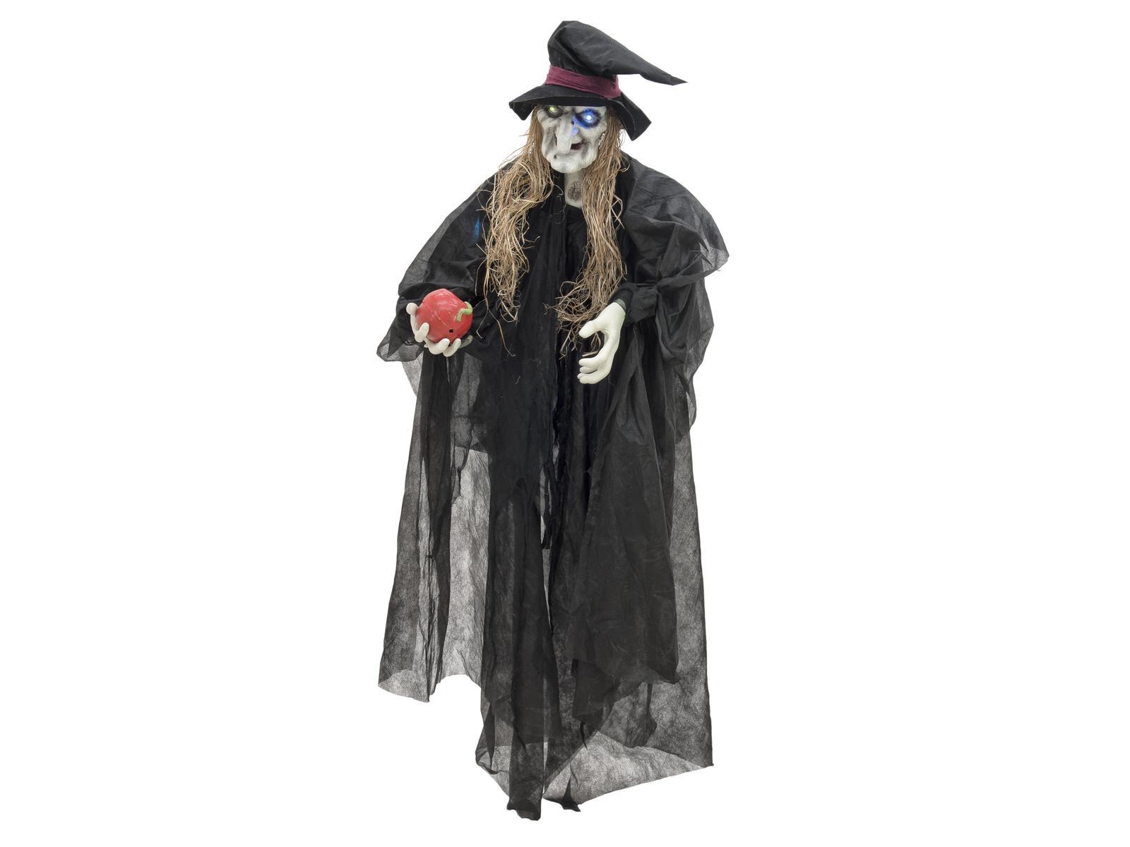 Halloween čarodějnice černá, 170cm