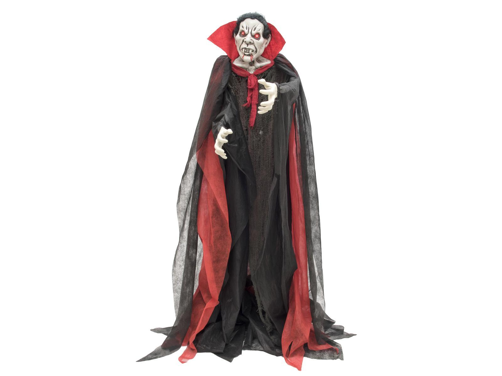 Halloween stojící upír, 180cm