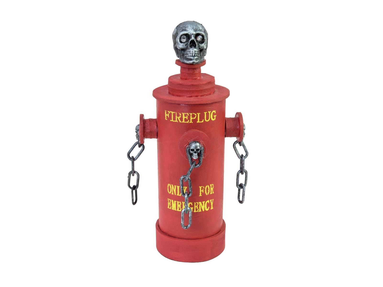 Halloween požární hydrant, 28cm