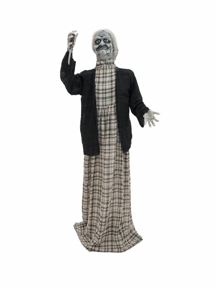 Halloween Žena s nožem