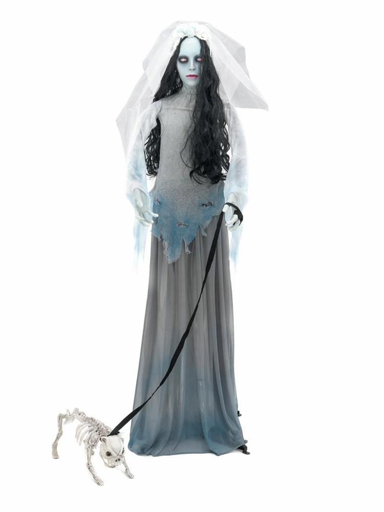 Halloween Mrtvá nevěsta se psem