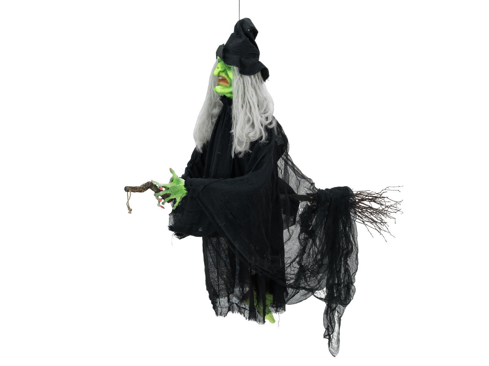 Halloween létající čarodějnice