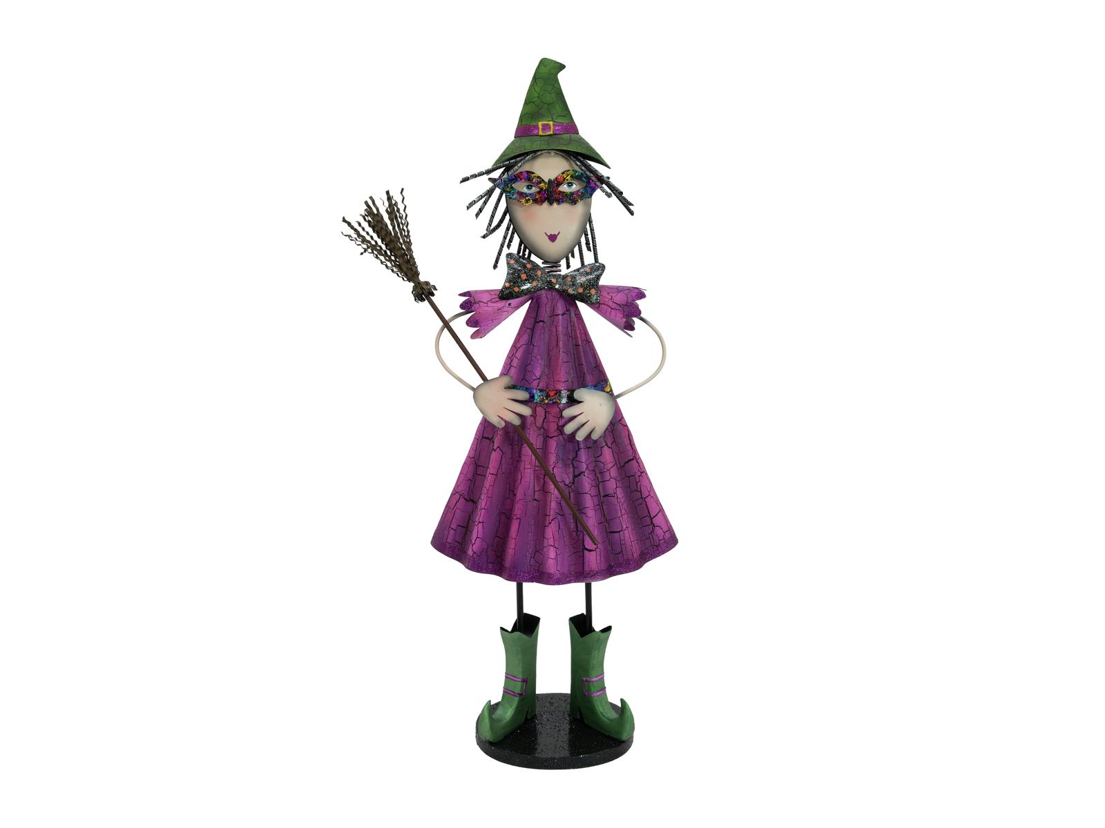 Europalms malá čarodejnice, kovová, 102cm purpurová