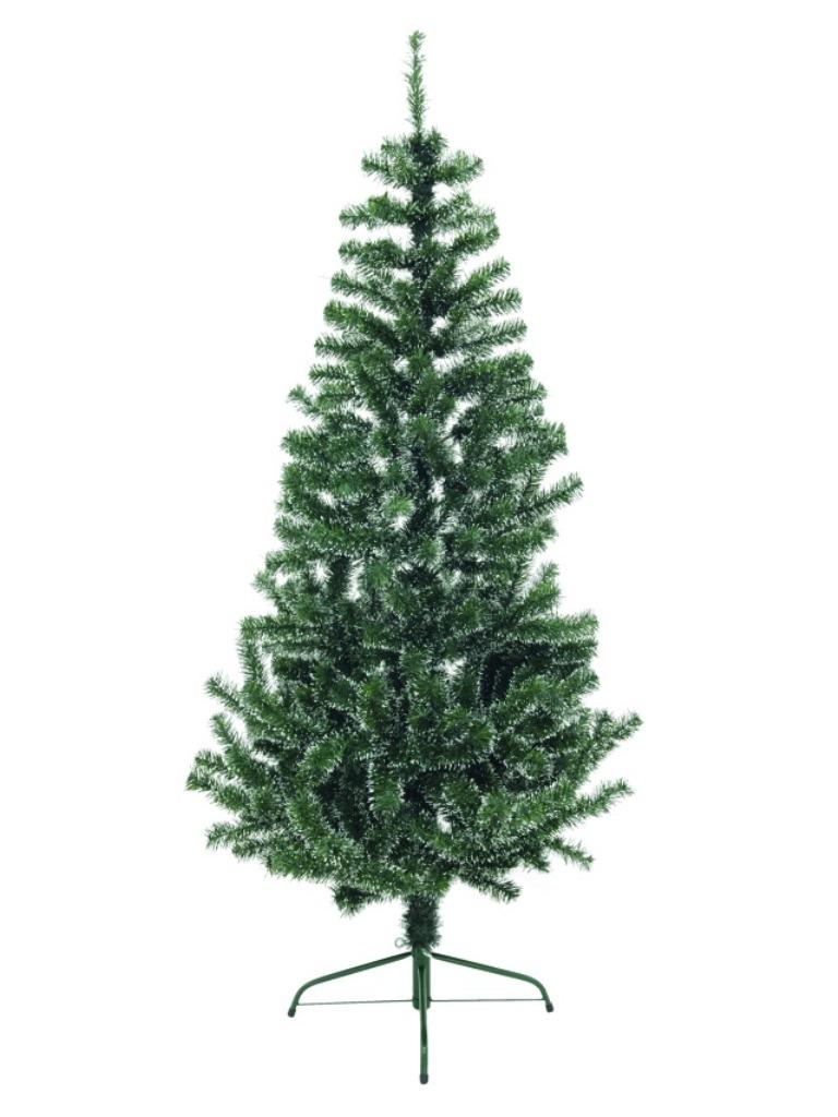 Vánoční jedle, zeleno-bílá, 180 cm