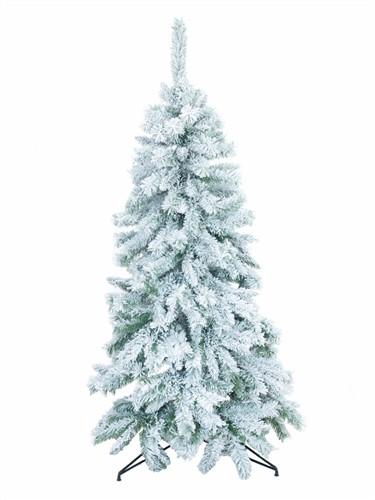 Umělý vánoční stromek Jedle zasněžená, 150 cm