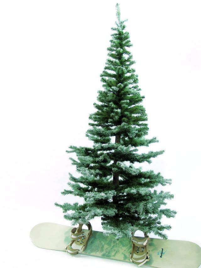 Vánoční stromek, 240 cm, zasně?ený