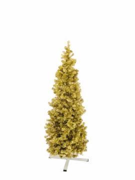 Jedle FUTURA, zlatá metalíza, 180 cm