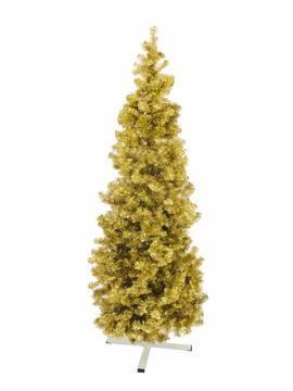 Jedle FUTURA, zlatá metalíza, 210 cm