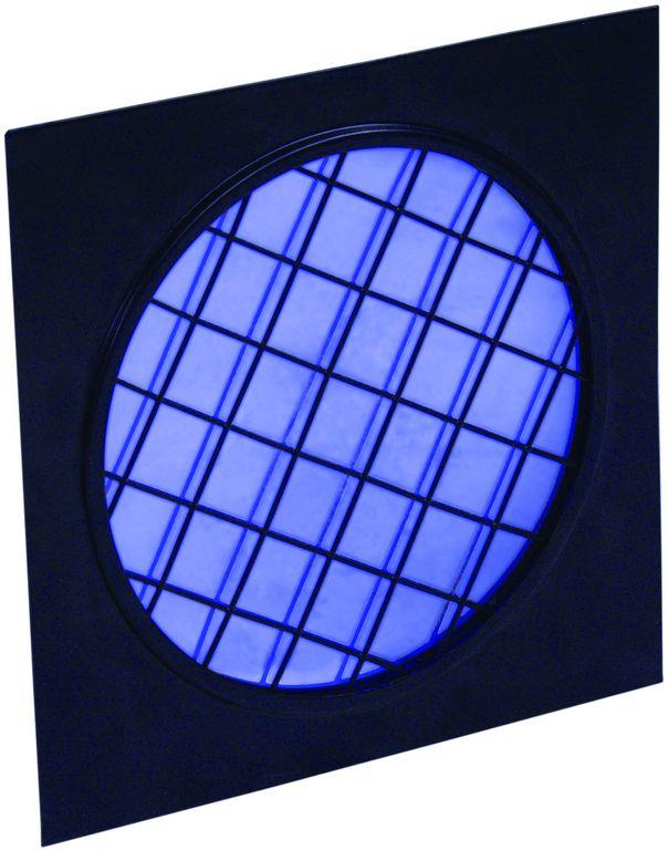 Dichrofiltr PAR 56 modrý, černý rámeček
