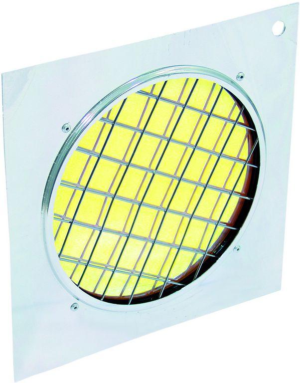 Dichrofiltr PAR-56 žlutý, stříbrný rámeček