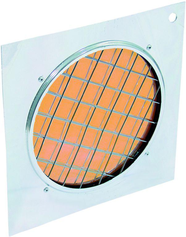 Dichrofiltr PAR-56 oranžový, stříbrný rámeček