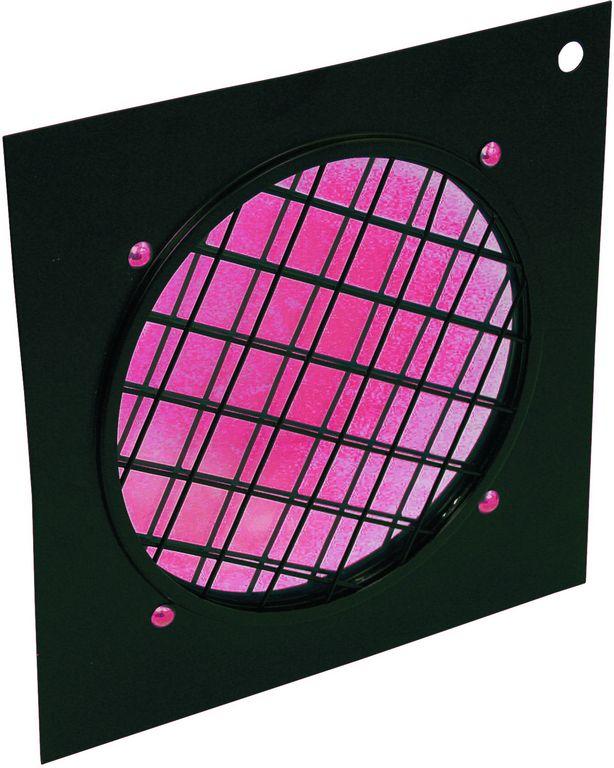 Dichrofiltr PAR 56 červený, černý rámeček