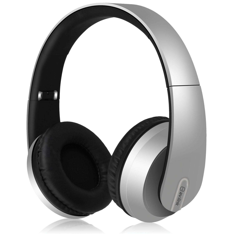 AV:link SFBH1-SLV bezdrátová Bluetooth sluchátka, stříbrná