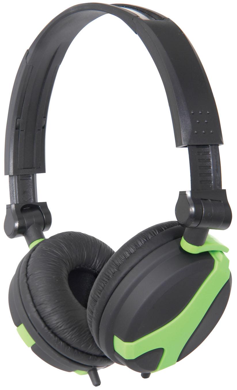 Fotografie QTX40, DJ Hi-Fi sluchátka zelená