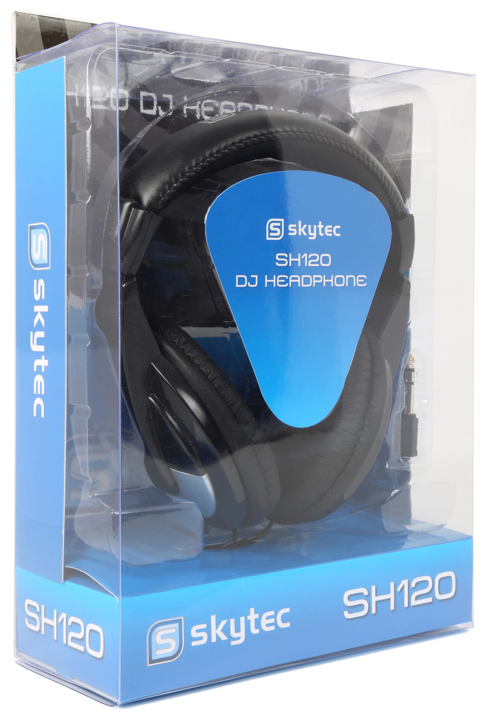 Skytec SH-120, DJ stereo sluchátka