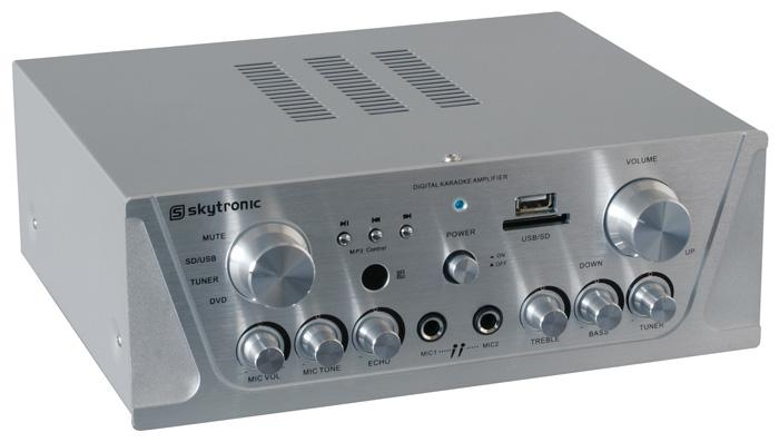 Karaoke zesilovač FM / USB / SD